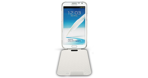 Noreve Tradition Leather Case Samsung Galaxy Note 2 White