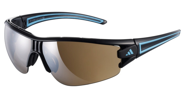 9e3fff940edaa6 Adidas Evil Eye Halfrim L Shiny Black Blue - Coolblue - Voor 23.59u ...