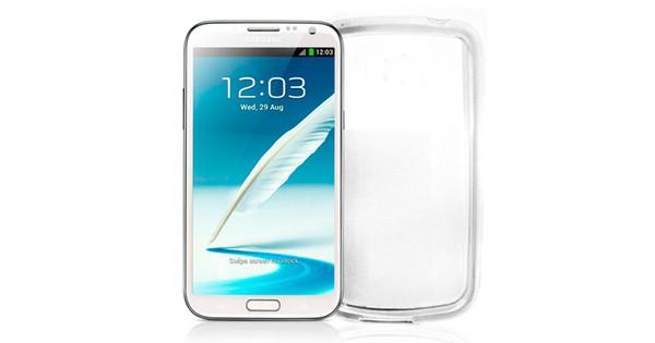 Celly Gel Case Samsung Galaxy Note 2 Black