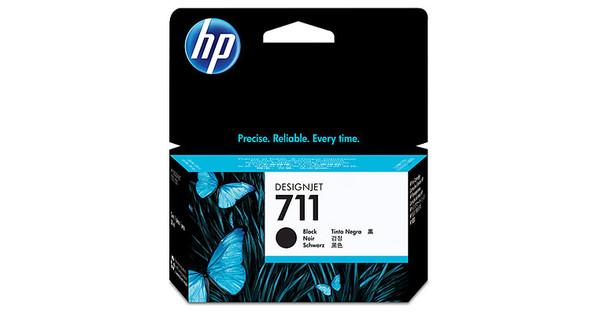 HP 711 Ink Cartridge Zwart (CZ129A)