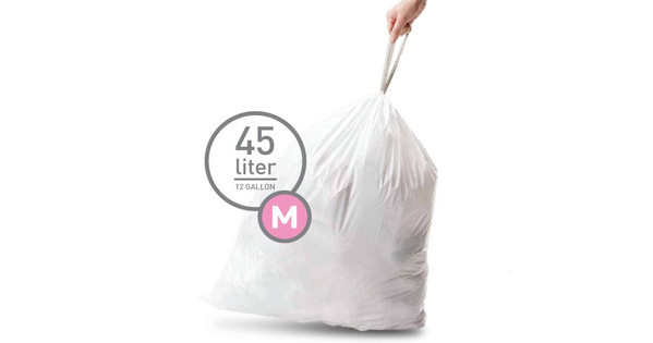 Simplehuman Waste bags Code M - 45 Liter (20 pieces)