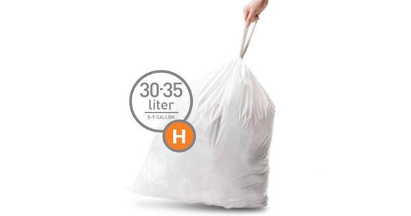 Simplehuman Afvalzak Code H - 30 Liter (20 stuks)