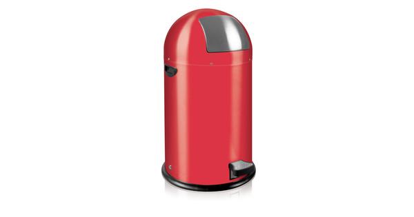 Eko Kickcan 33 Liter Rood.Eko Kickcan 33 Liter Rood