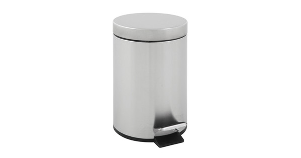 Rvs Pedaalemmer Badkamer : Eko pedaalemmer liter chroom coolblue voor u morgen in