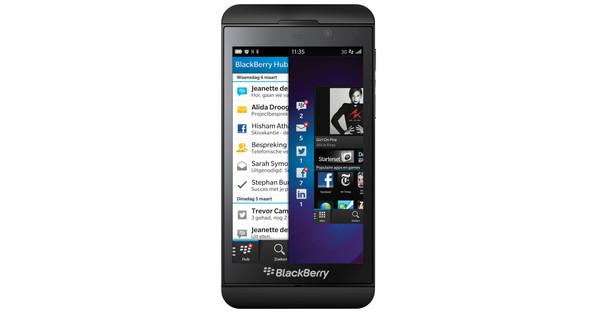 BlackBerry Z10 Zwart
