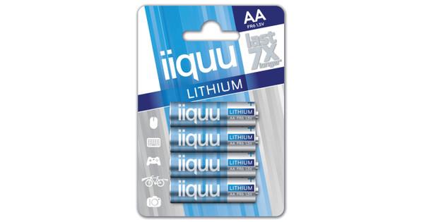 iiquu lithium AA + cleaning + geheugen + lezer