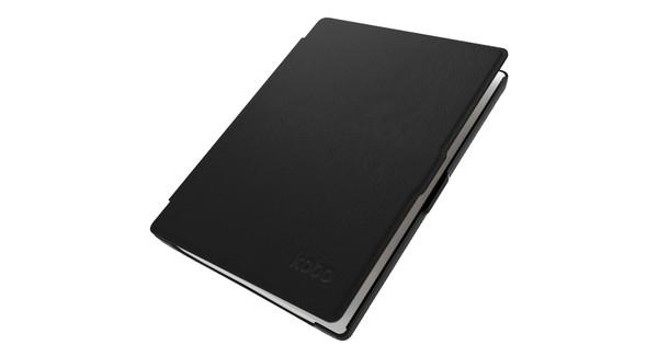 Kobo Aura HD Leather Sleep Cover Black