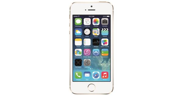 Apple iPhone 5S 64 GB Goud