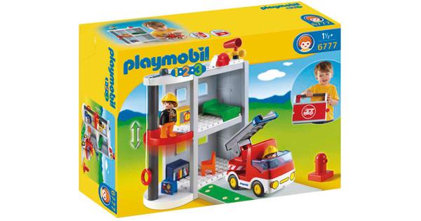 opgehaald goedkoopste hoogwaardige sportkleding Playmobil 1.2.3. Brandweerkazerne 6777