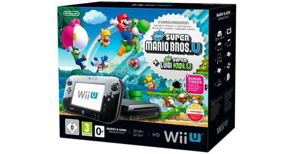 Nintendo Wii U Premium Pack + Mario & Luigi