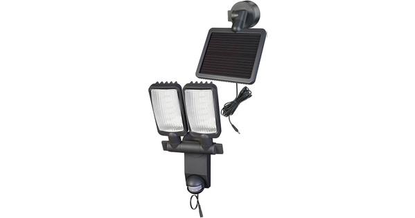 brennenstuhl lv1205 solar led lamp duo premium met bewegingssensor