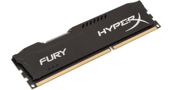 Kingston HyperX FURY 4GB DDR3 DIMM 1866 MHz Zwart (1x4GB)