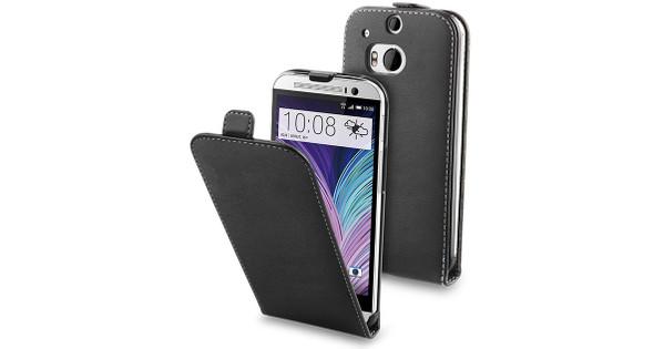 Muvit Slim Case HTC One M8 Zwart