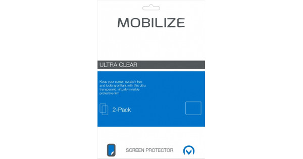 Mobilize Screen Protector Huawei P8 Lite Duo Pack