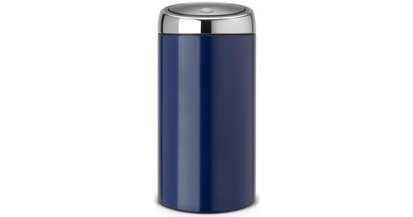 Aanbieding Brabantia Touch Bin 30 Ltr.Brabantia Touch Bin 30 Liter Kobaltblauw Coolblue Voor 23 59u