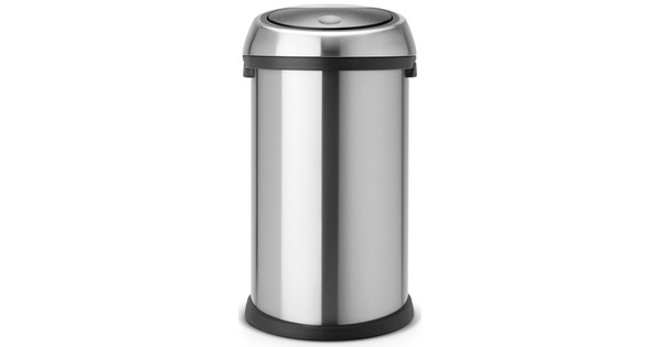 Aanbieding Brabantia Touch Bin 50 Liter.Brabantia Touch Bin 50 Liter Matt Steel Fingerprint Proof Coolblue