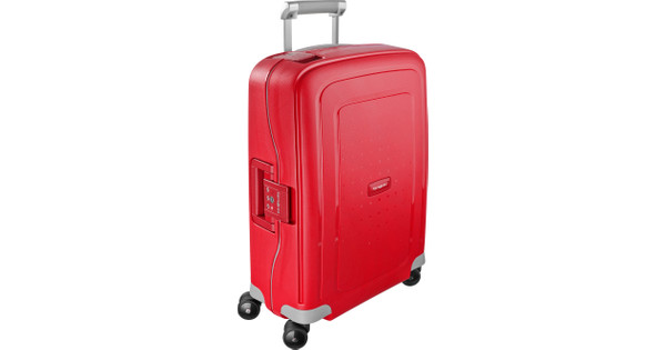 46dbddfafc7 Samsonite S'Cure Spinner 55cm Crimson Red - Coolblue - Voor 23.59u, morgen  in huis