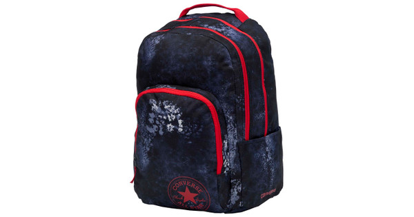 698bc22d9ba Converse All In LG Backpack Converse Navy Wash Print - Coolblue ...