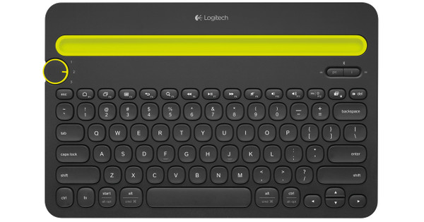 Logitech Multi Device Toetsenbord K480 zwart Qwerty