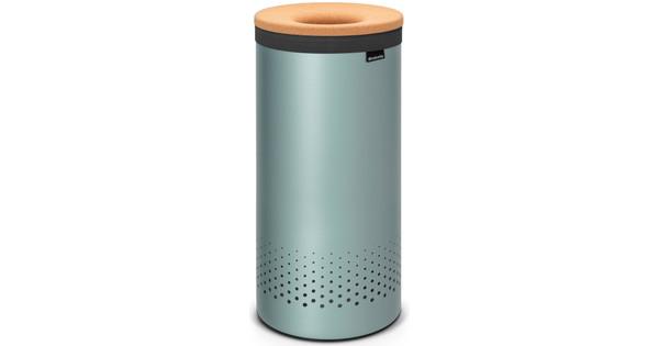 Brabantia Wasbox 50 Liter Matt Steel.Brabantia Wasbox 35 Liter Metallic Mint