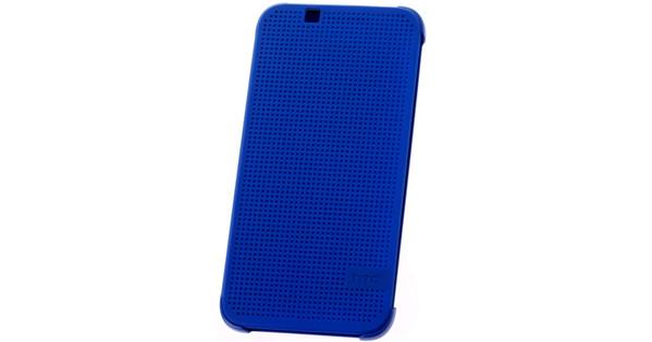 brand new c5ba3 28642 HTC Desire 510 Dot View Case Blauw