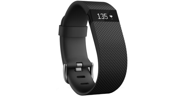 Fitbit Charge HR Black - L
