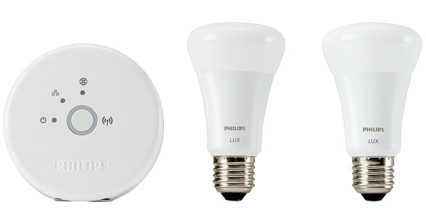 philips hue lux led lamp starter pack