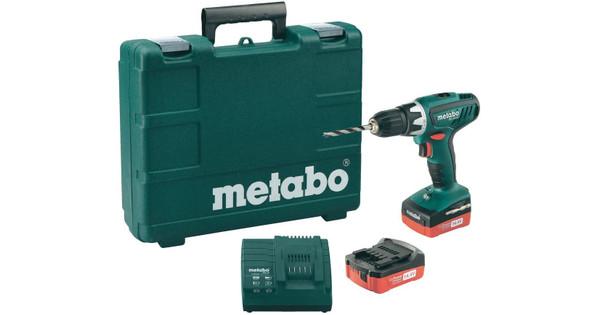 Metabo BS 14,4 Li + 2e accu
