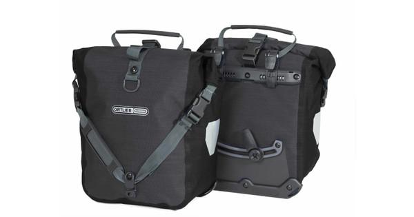 Ortlieb Sport-Roller Plus QL2.1 Granite/Black (paar)