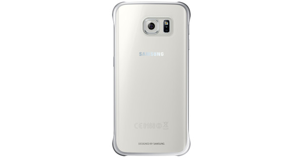 Samsung Galaxy S6 edge Clear Cover Zilver