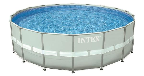 Intex Ultra Frame Set 488 x 122 cm met Filterpomp