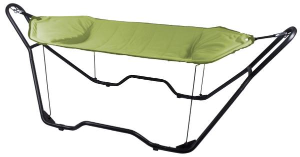 Hangmat Met Stevig Frame.Bo Garden Hangmat Deluxe Gepolsterd Groen Coolblue Voor 23 59u