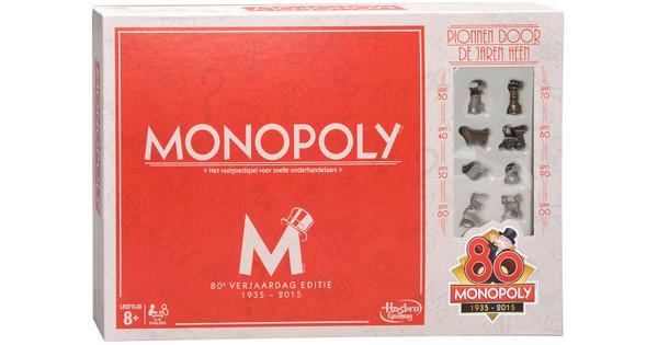 Monopoly 80e Verjaardag Editie Coolblue Voor 23 59u Morgen In Huis