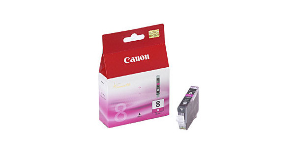 Canon CLI-8M Magenta Cartridge Double Pack
