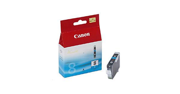 Canon CLI-8C Cyan Cartridge Double Pack