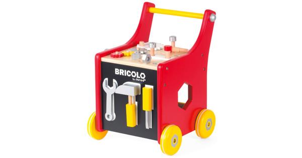 Trolley In Huis : Janod redmaster bricolo trolley coolblue voor u morgen