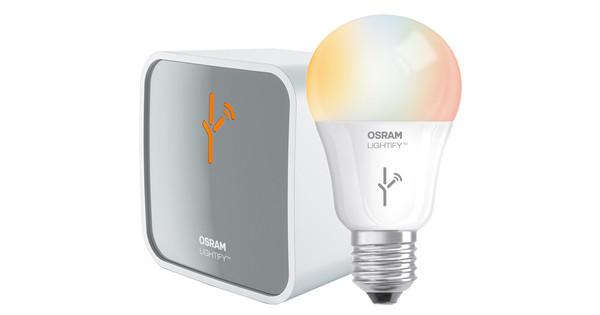 Osram Lightify Startpakket RGBW - Coolblue - alles voor een glimlach