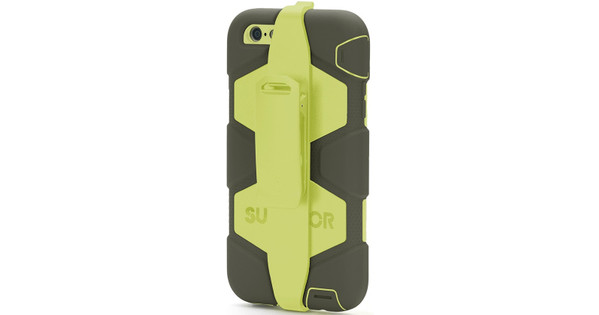 8c1eb9ff6cf Griffin Survivor All Terrain Apple iPhone 6 Plus/6s Plus Zwart/Geel ...