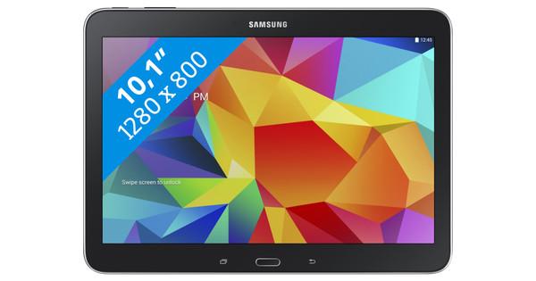 Samsung Galaxy Tab 4 10.1 Wifi + 4G Zwart