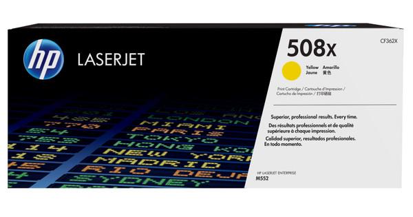 HP 508X Toner Geel XL (CF362X)