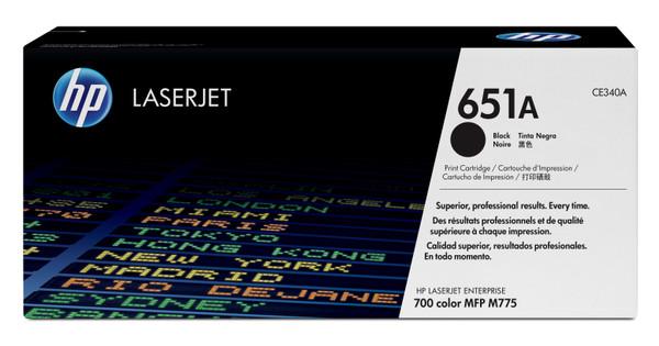 HP 651A Toner Zwart (CE340A)