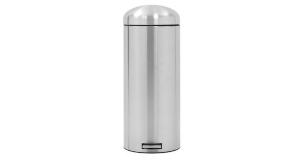 Brabantia Motioncontrol Pedaalemmer 30 L.Brabantia Retro Bin 30 Liter Rvs Mat Fingerprint Proof