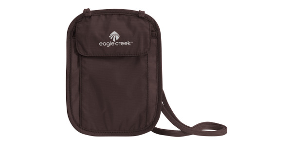 Eagle Creek Undercover Neck Wallet Mocha
