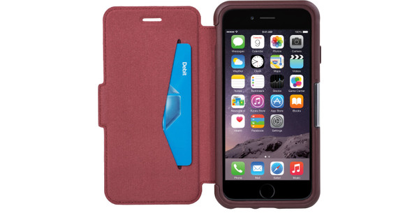 official photos bf04d d9d1f OtterBox Strada Case Apple iPhone 6/6s Red