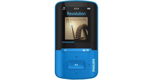 Philips GoGear Vibe 4GB Blauw
