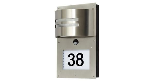 Ranex Verlicht huisnummer met bewegingssensor - Coolblue - alles ...