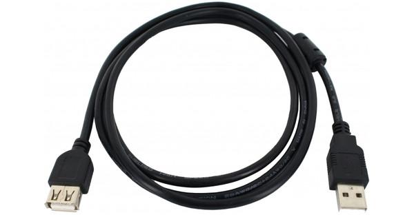 Xccess USB 2.0 Verlengkabel 1,5m Zwart