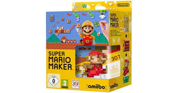 Super Mario Maker Wii U + Amiibo