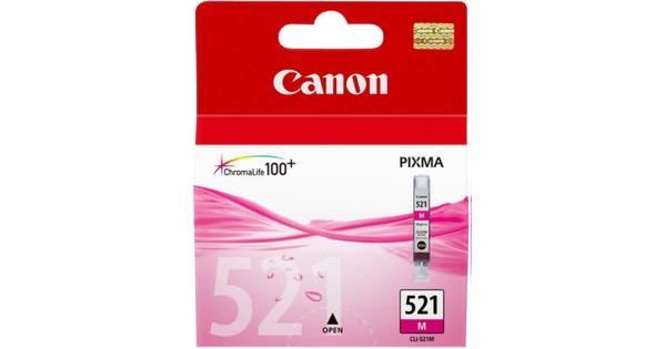 Canon CLI-521M Magenta Ink Cartridge (rood) (2935B001)
