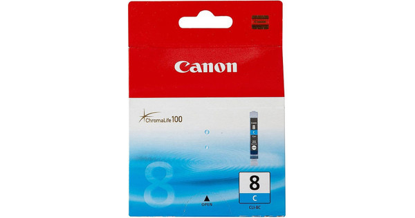 Canon CLI-8C Cyan Cartridge Triple Pack